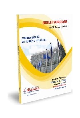 İlkumut AÖF - Avrupa Birliği ve Türkiye İlişkileri
