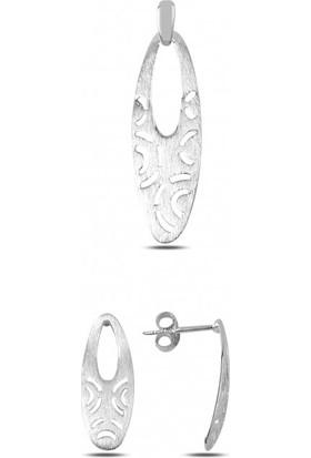 Angemiel 925 Gümüş Taşsız Set
