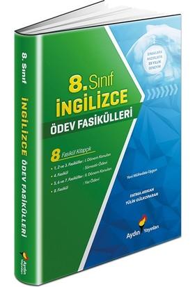 Aydın Yayınları 8. Sınıf Ingilizce Ödev Fasikülleri