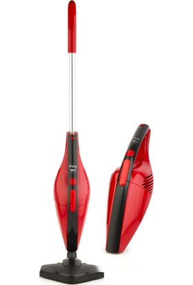 King K-368P Bold Dik Elektrikli Süpürge(Kırmızı)
