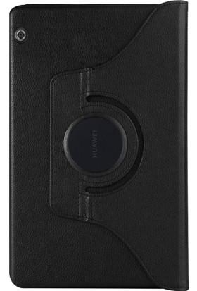 A Shopping Huawei Mediapad T5 10'' Kılıf 360 Rotating Stand Siyah