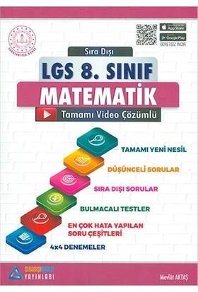 Sıradışı Analiz 8.Sınıf LGS Matematik Soru Bankası - Mevlüt Aktaş