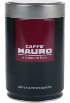 Caffe Mauro Centopercento Öğütülmüş Kahve Teneke Kutu 250 gr