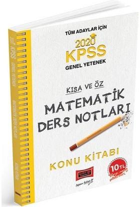 Yargı Yayınları 2020 Kpss Matematik Kısa Ve Öz Ders Notları - Deniz Atalay