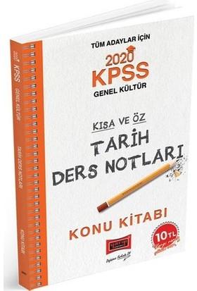 Yargı Yayınları 2020 Kpss Tarih Kısa Ve Öz Ders Notları - Mehmet Ali Tan