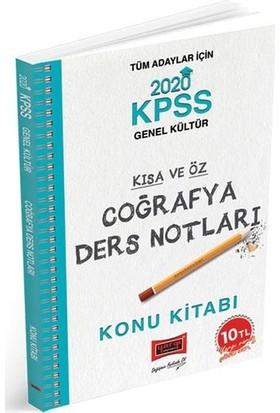 Yargı Yayınları 2020 Kpss Coğrafya Kısa Ve Öz Ders Notları - Engin Eraydın