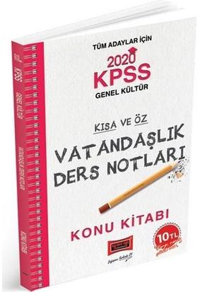 Yargı Yayınları 2020 Kpss Vatandaşlık Kısa Ve Öz Ders Notları - Cihan Polat