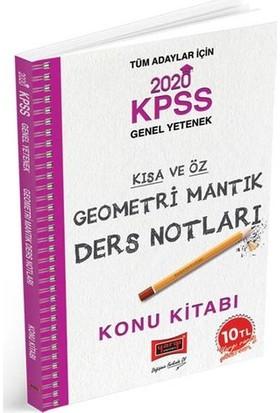 Yargı Yayınları 2020 Kpss Geometri Mantık Kısa Ve Öz Ders Notları - Deniz Atalay