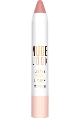 Golden Rose Nude Look Creamy Lıpstıck 02