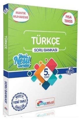 Köşebilgi Yayınları 5. Sınıf Türkçe Soru Bankası