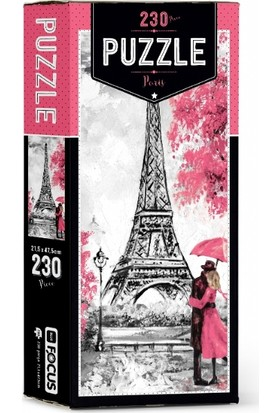 Blue Focus Paris 230 Parça Puzzle