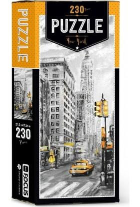 Blue Focus New York 230 Parça Puzzle BF137