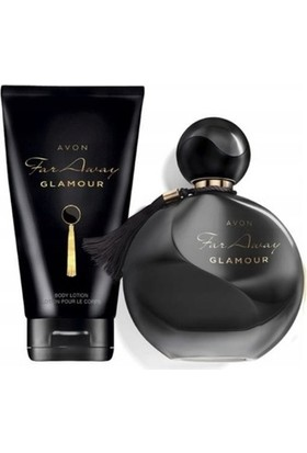 Avon Far Away Glamour Kadın Parfüm Edp 50 ml 2 Li Set