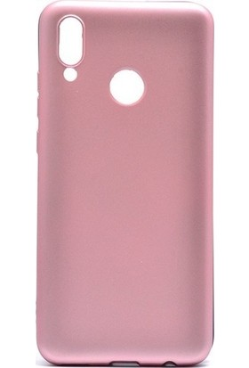 Teleplus Meizu Note 9 Kılıf Lüks Silikon Rose Gold