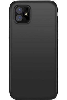 Teleplus Apple iPhone 11 Kılıf Lüks Silikon Siyah + Nano Ekran Koruyucu