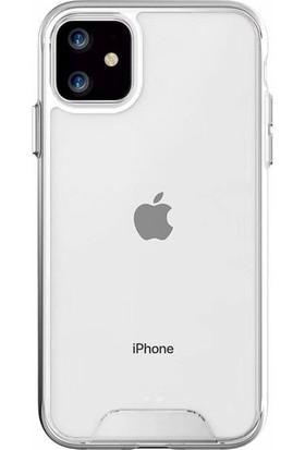 Teleplus Apple iPhone 11 Kılıf Gard Sert Silikon Şeffaf