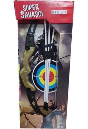Rikon Süper Savaşçı Plastik Vakumlu Ok Yay Seti 63 cm