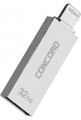 Concord C-OTGL Otg Lightning 32GB USB 3.0 Flash Bellek