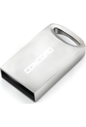 Concord C-3U USB 3.0 Metal Mini 16GB Flash Bellek