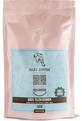 Sezy Coffee Brazil Yellow Bourbon 250 Gr.
