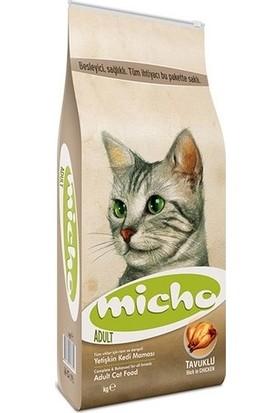 Micho Tavuklu (Hamsi ve Pirinç eşliğinde) Yetişkin Kedi Maması 1,5Kg