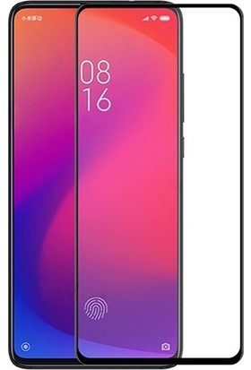 Ally Xiaomi Redmi K20 5D Full Kaplama Cam Ekran Koruyucu AL-31083 Siyah