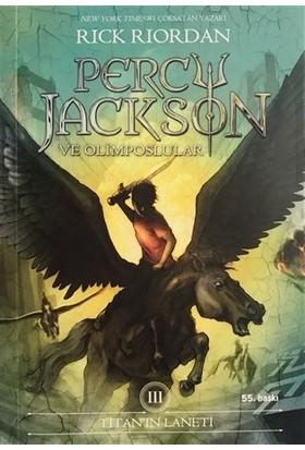 Percy Jackson - Titan'ın Laneti (3.Kitap) - Rick Riordan