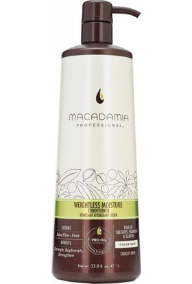 Macadamia Professional İnce Telli Saçlar İçin Hacimlendirici Nemlendirici Saç Kremi 1000 ml