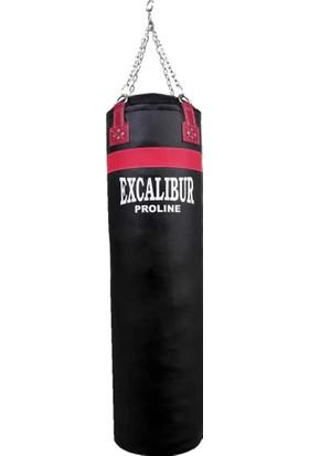 Excalibur Proline 180 x 35 Salon Tipi Boks Kum Torbası Siyah