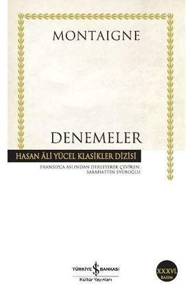 Denemeler - Michel de Montaigne