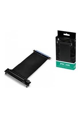 Deep Cool PEC 300 Her İki Uç Standart PCI-E 16X 164-PIN Ekran Kartı Uzatma Kablosu 250 mm