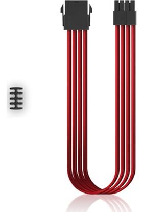 Deep Cool EC300-CPU8P-RD Standart ATX PS2 Güç Kaynağı Uzatma Kablosu