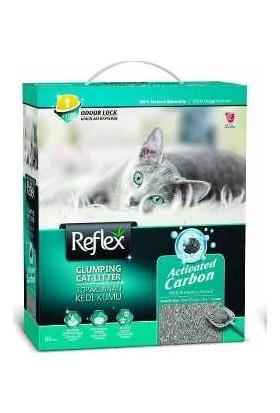 Reflex Aktif Karbonlu Topaklanan Kedi Kumu 10 l