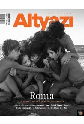 Altyazı Dergisi 18 Kasım - Aralık 2018