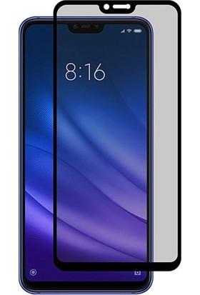Dafoni Xiaomi Mi 8 SE Curve Privacy Tempered Glass Premium Cam Ekran Koruyucu