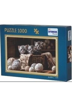 Adam Games Kediler 1000 Parça Puzzle