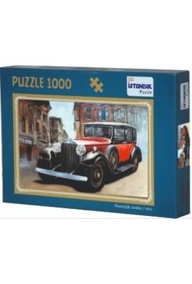 Adam Games Nostaljik Araba 1000 Parça Puzzle