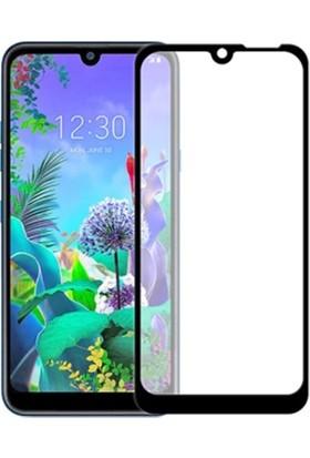 Ally LG Q60 3D Full Kaplama Ekran Koruyucu AL-31084 Siyah