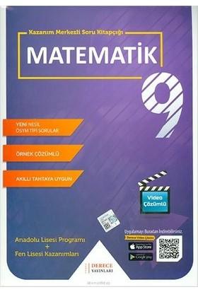 Derece Yayınları DRC 9.Sınıf Matematik Modüler Set 2020-2021