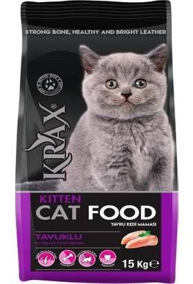 Krax Kitten Tavuklu Yavru Kedi Maması 15 kg