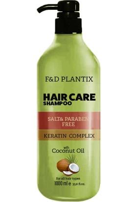 F&d Plantix 1000 ml Tuzsuz Şampuan Hindistan Cevizi&keratin