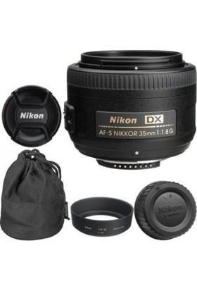 Nikon Af-S Dx Nıkkor 35MM F/1.8g Lens (Karfo Karacasulu Garantili)