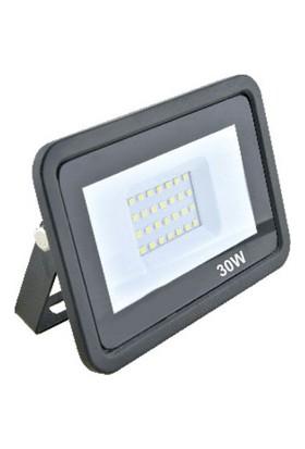 Foblight LED Projektör 30 Watt Siyah Kasa Kırmızı Işık Smd LED
