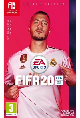 Fifa 20 Legacy Edition Nintendo Switch Oyun
