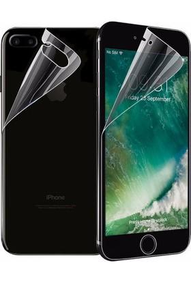 Monsterskin Apple iPhone 8 Ön Arka Darbeye Dayanıklı Tam Koruma Ekran Koruyucu - Şeffaf