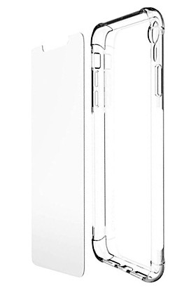 Aktif Aksesuar Samsung Galaxy S6 Edge Plus Ekran Koruyucu Set - Şeffaf
