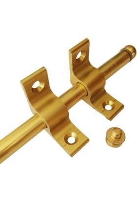 Forfloor Merdiven Halı Dip Çubuğu Takımı İnce Ayak Gold
