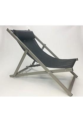 Relax Alüminyum Tekstilen Katlanır Şezlong