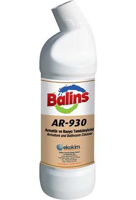 Ekoki̇m Balins AR-930 Armatür ve Banyo Temizleyici 1 lt