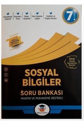 7.Sınıf Sosyal Bilgiler Soru Bankası Zeka Küpü Yayınları